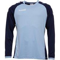 Hummel Mens Core Kinetic Long Sleeve Match Jersey Argentina Blue/Marine