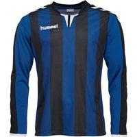 Hummel Mens Core Striped Long Sleeve Match Jersey II True Blue/Black