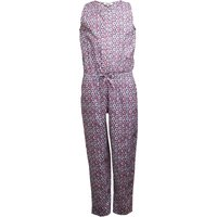 Ribbon Girls Printed Jumpsuit Navy/Pink