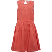 Ribbon Girls Dobby Sleeveless Dress Living Peach