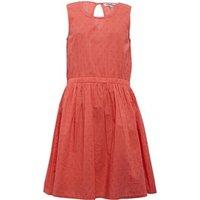 Ribbon Girls Dobby Sleeveless Dress Living Peach