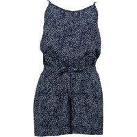 Ribbon Girls Printed Playsuit Navy/White