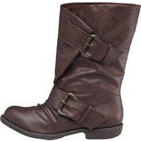Blowfish Womens Aribeca Boots Dark Brown