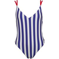 Jack Wills Womens Clifton Swimsuit Blue Stripe
