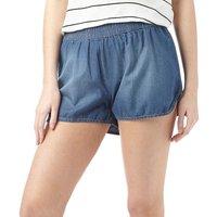 Jacqueline De Yong Womens Legend Denim Shorts Medium Blue Denim