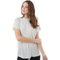 Jacqueline De Yong Womens Sukie Short Sleeve Top Cloud Dancer