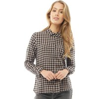Jacqueline De Yong Womens Ally Checked Shirt Quail