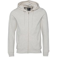 Gotcha Mens Zip Through Hooded Jacket Oatmeal