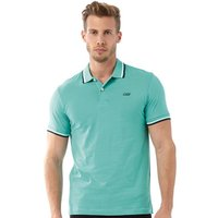 JACK AND JONES Mens New Contrast Polo Marine Green
