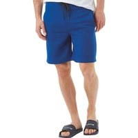 JACK AND JONES Mens Quilt Sweat Shorts Blue
