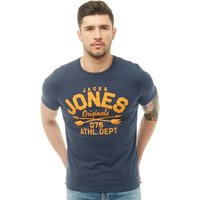 JACK AND JONES Mens Joe T-Shirt Dress Blue