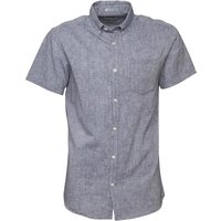 JACK AND JONES Mens Ebech Shirt Total Eclipse