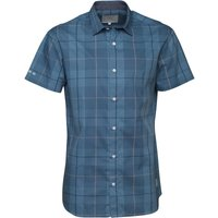 JACK AND JONES Mens Check Shirt Blue