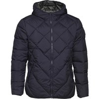 JACK AND JONES Mens South Hooded Parka Total Eclipse