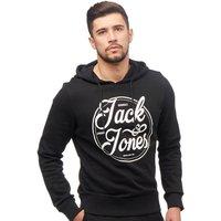JACK AND JONES Mens Jarvis Hoody Black