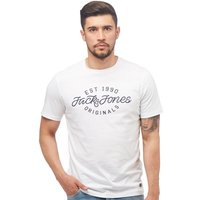 JACK AND JONES Mens Finish T-Shirt White