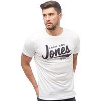 JACK AND JONES Mens Noah T-Shirt White