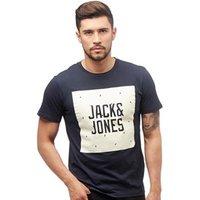 JACK AND JONES Mens Felix T-Shirt Total Eclipse