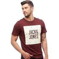 JACK AND JONES Mens Felix T-Shirt Port Royal