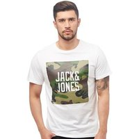 JACK AND JONES Mens Felix T-Shirt White