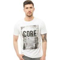 JACK AND JONES Mens Profile T-Shirt White