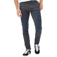 JACK AND JONES Mens Liam Icon Skinny Jeans Blue Denim