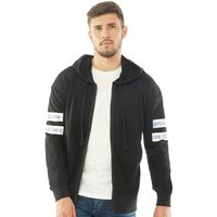 JACK AND JONES Mens Core Clone Sweat Hoody Black