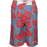Dudeskin Boys Woven And Lined Board Shorts Forever Blue