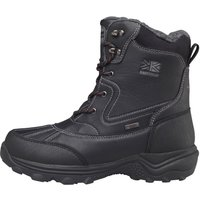 Karrimor Mens Snow Casual 3 Weathertite Snow Boots Black