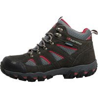 Karrimor Womens Bodmin Mid 5 Weathertite Hiking Boots Dark Grey/cochineal