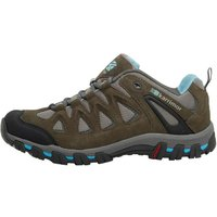 Karrimor Womens Supa 5 Hiking Shoes Grey/blue