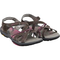 Karrimor Womens Trinidad 3 Suede Strap Sandals Dark Grey/cochineal