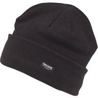 Kangaroo Poo Mens Thinsulate Polar Fleece Hat Black