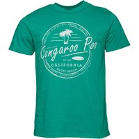 Kangaroo Poo Mens Printed T-Shirt Green