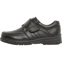 KP85 Boys Velcro BTS Shoes Black