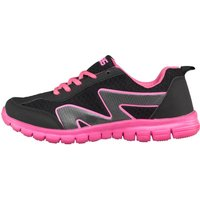 KP85 Womens Trainers Black/Pink