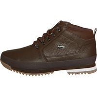 Lacoste Mens Upton Hiker Leather Boots Brown/Black