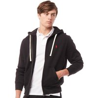 Polo Ralph Lauren Mens Athletic Fleece Hoody Polo Black