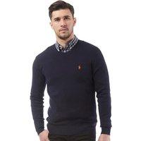 Polo Ralph Lauren Mens Pima Cotton Crew Neck Sweater Hunter Navy
