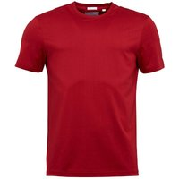 Lyle And Scott Vintage Mens Crew Neck T-Shirt Ruby