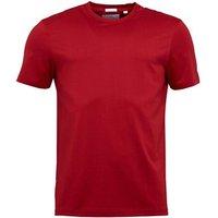 Lyle And Scott Vintage Mens Crew Neck T-Shirt Ruby