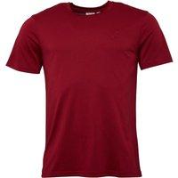 Lyle And Scott Vintage Mens Sutton Embossed Pique T-Shirt Light Claret Jug