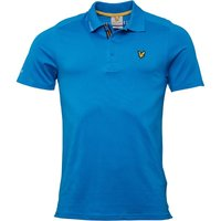 Lyle And Scott Vintage Mens Hawick Tech Polo Borders Blue