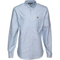 Lyle And Scott Vintage Mens Long Sleeve Oxford Shirt Riviera