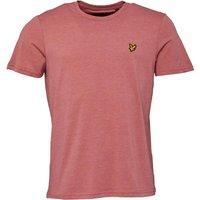 Lyle And Scott Vintage Mens T-Shirt Pomegranate Marl