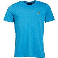 Lyle And Scott Vintage Mens T-Shirt Pacifica Blue Marl