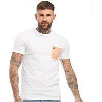 Lyle And Scott Vintage Mens Contrast Pocket T-Shirt White
