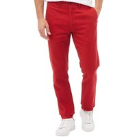 Levis Mens 511 Slim Fit Chinos Scooter Red Linen