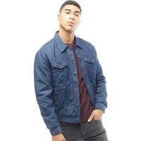 Levi's Mens Trucker Varsity Hybrid Denim Jacket Smythe