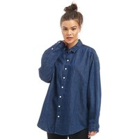 Levi's Womens Painter Long Sleeve Shirt Dark Mid Wash